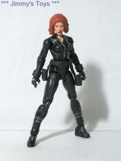 MARVEL UNIVERSE THE AVENGERS MOVIE BLACK WIDOW 3.75 ACTION FIGURE