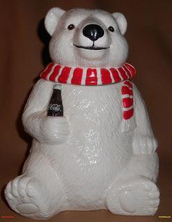 1994 coca cola bear cookie jar in Cookie Jars & Canisters