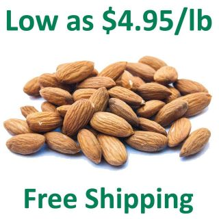 Truly Raw Unpasteurized Almonds Family Farmed in California   Fresh