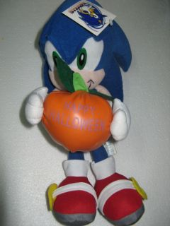 Sonic Hedgehog Adventure Plush Figure SEGA halloween