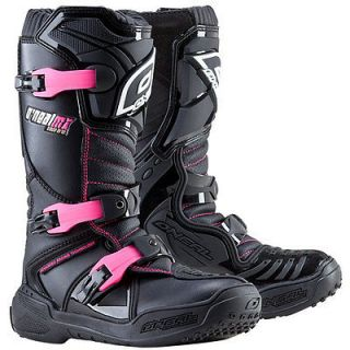 Oneal 2012 Element Girls Kids Youth Motorcycle Boots Black Pink 6