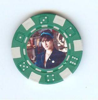 NEW Green Danielle Cushman American Pickers Poker Chip Card Guard