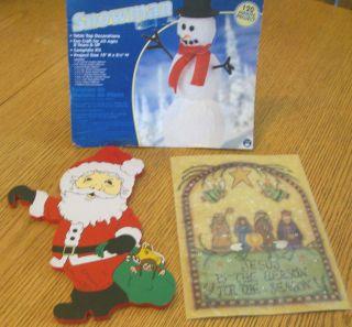 Personalised Wooden Advent Calendar Days or Sleeps Until Christmas