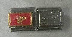 Coca Cola Vanilla Coke Logo Casa DOro Add A Link CHARM CC16