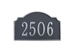 Vanderbilt 3 sizes Address Plaque Lawn House Sign Numbers wall Custom