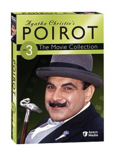Agatha Christies Poirot The Movie Collection   Set 3 DVD, 2009, 3