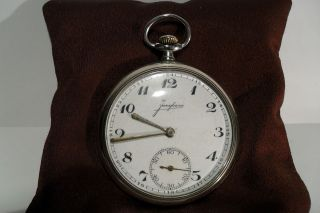 ANTIQUE GERMANY POCKET WATCH OPEN FACE JUNGHANS