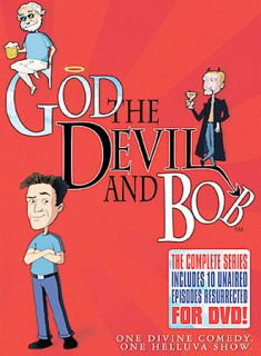 God, The Devil Bob   The Complete Series DVD, 2005, 2 Disc Set