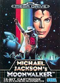 Michael Jacksons Moonwalker Sega Genesis, 1990