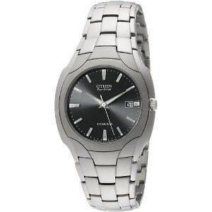 SALE Citizen Mens Eco Drive Titanium Watch BM6560 54H
