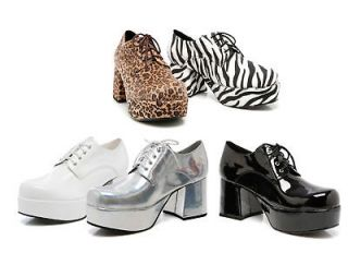 mens leopard print shoes in Clothing,