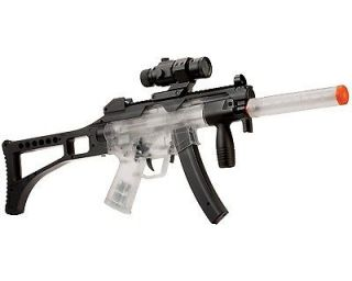 Crosman Tactical Electric Airsoft Rifle Clear/Black Full or Semi Auto