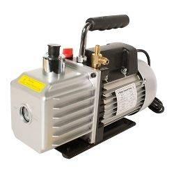 ROTARY VANE VACUUM PUMP HVAC AC R134A, R12/R22 2.5 CFM Refrigeration