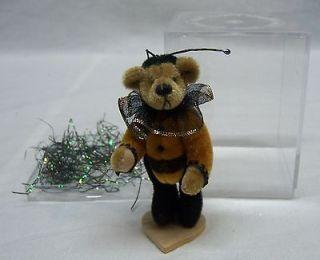 LITTLE GEM TEDDY BEARS   BUMBLE BEE BEAR