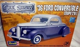 revell 1/24 1936 FORD CONVERTIBLE COUPE 2n1 STREET ROD