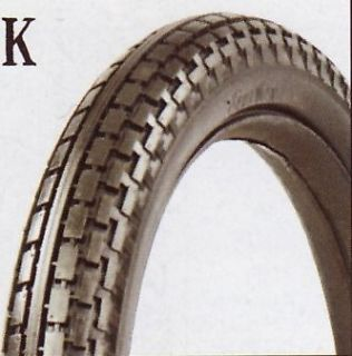 vintage motorcycle tires whitewall in Parts & Accessories
