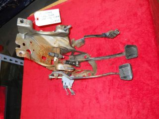 5SPD MT MANUAL CLUTCH BRAKE PEDAL PEDALS ASSEMBLY BRACKET LOOK #404