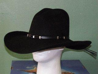 RESISTOL CISCO 2XX WOOL GUS STYLE COWBOY WESTERN HAT