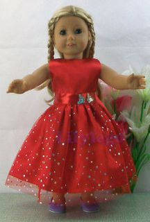 Doll Clothes Outfits For 18 American Girl Dolls, Set New #LASD05