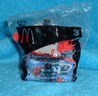 2002 McDonalds Happy Meal Toy Transformers Armada Starscream