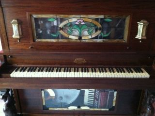 Coin Operated Stafford Nickelodeon Player Piano