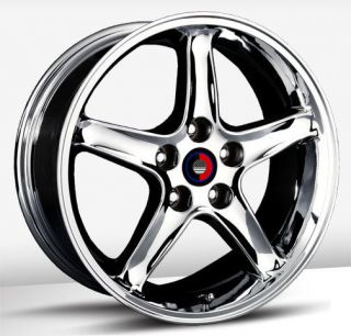 17x9 OE Concepts Cobra R Replica Chrome Wheel/Rim(s) 4x108 4 108 4x4