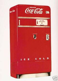 restored coke machine in Banks, Registers & Vending