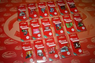2012 * Coca Cola Days of the Games Pin Badges * Choose Your Pin