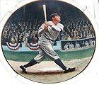 BABE RUTH THE CALLED SHOT THE BRADFORD EXCHANGE COLLECTOR PLATE