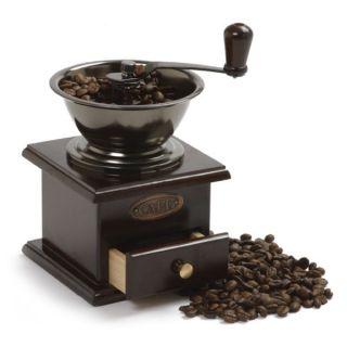 Norpro Vintage Fancy Hand Crank Coffee Grinder NEW