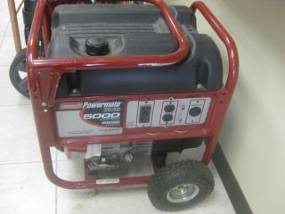 coleman powermate generator in Home & Garden