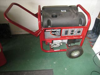 Coleman Powermate 5000/6250 Watt Portable Generator Never Used Tampa