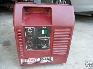 GENERATOR Coleman PowerMate 1600 Portable Pulse Generator