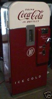 Vendo 39 Coke Machine Restoration Manual 73 Pages