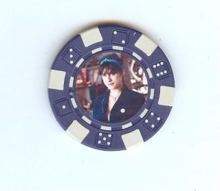 NEW Black Danielle Cushman American Pickers Poker Chip Card Guard
