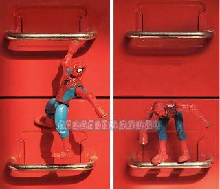 Marvel Spider Man Toy Action Figure Decal Fridge Magnet