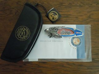 MINT  Harley   Davidson ® 1948 Panhead Collector Knife with COA