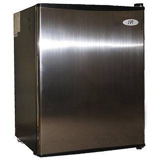 stainless steel mini fridge in Refrigerators