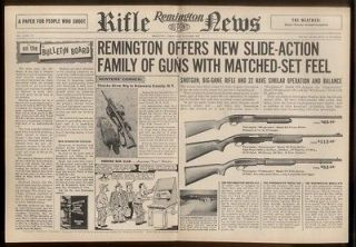 Gamemaster Wingmaster Field model 870 760 572 shotgun print ad