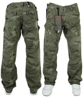 MENS NEW DESIGNER APT ARMY DESIGN COMBAT TROUSERS *SALE REDUCED PRICE*