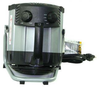 Comfort Zone CZ285 Metal Deluxe Ceramic Barrel Utility Heater