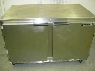 Beverage Air 48 Two Door Undercounter Refrigerator, UCR48A