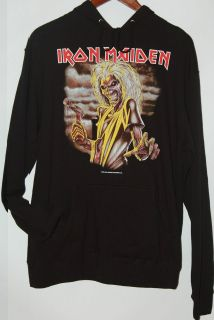 Iron Maiden Killers black lightweight pullover Hoodie by APX