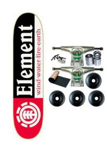 Element Skateboards SECTION BLACK Complete SKATEBOARD