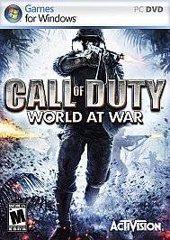 Call of Duty World at War Computer Game (PC, 2008)