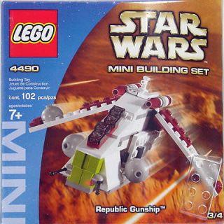 NEW LEGO Star Wars Republic Gunship Mini 4490