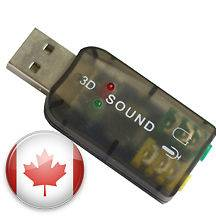 Newly listed USB 2.0 AUDIO SOUND CARD ADAPTER MIC FOR LAPTOP PC