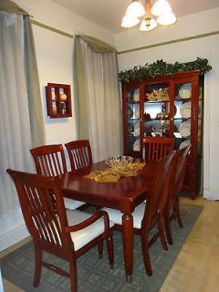 mahogany dining table in Home & Garden
