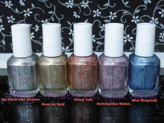 Essie Nail Polish Mirror Metallics 2012 Collection Various Colors Full