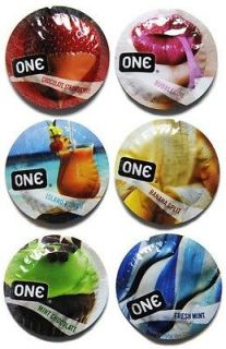 ONE Flavor Waves Condoms   12 Pack